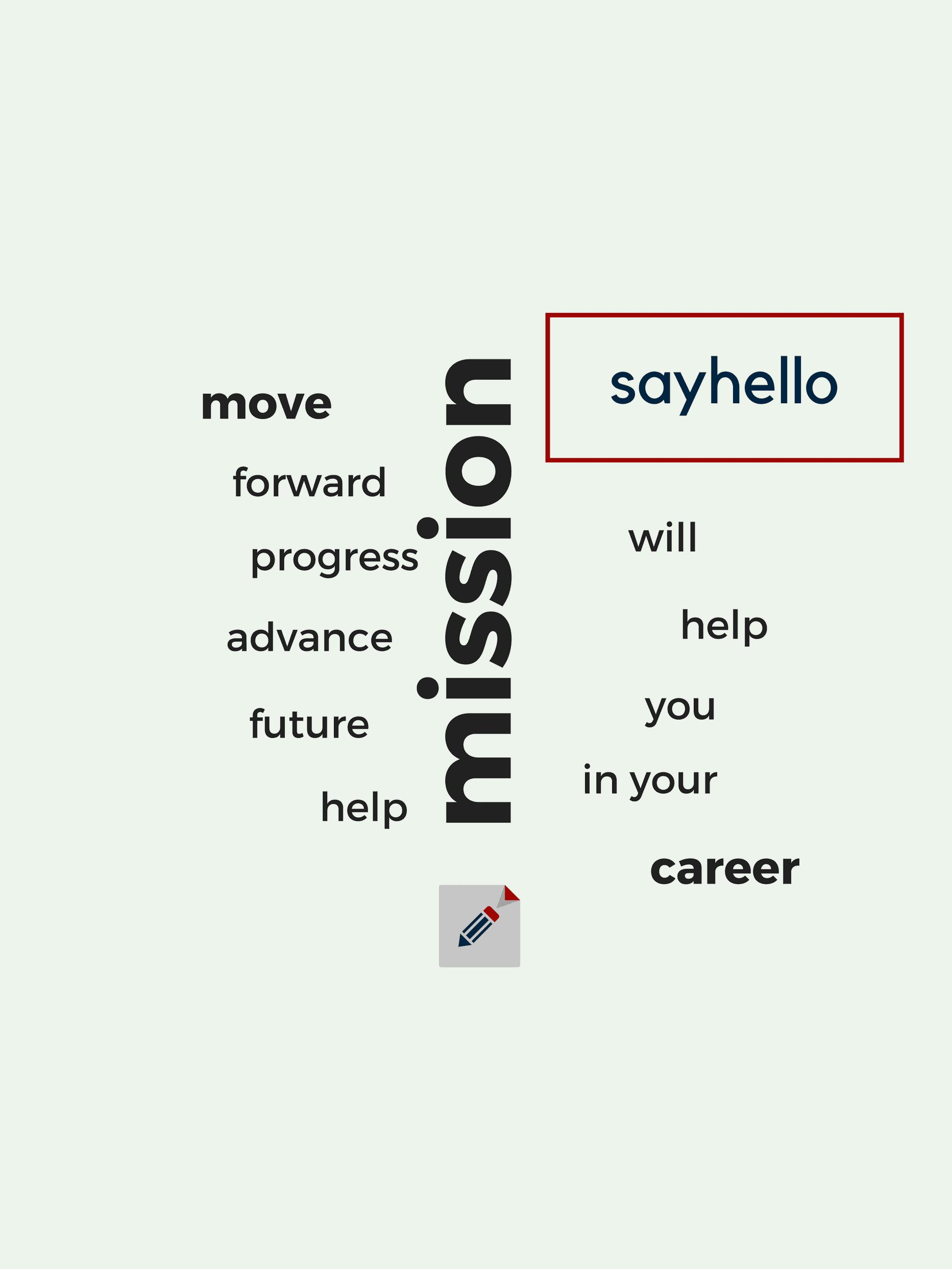 Sayhello.sk | Prečo sayhello | Misia
