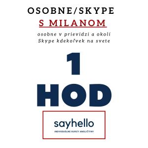 Sayhello.sk | Hodina angličtiny osobne v Prievidzi alebo Skype | Milan